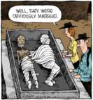 Comic Strip Dave Coverly  Speed Bump 2018-11-08 marriage