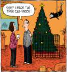 Comic Strip Dave Coverly  Speed Bump 2018-12-05 Christmas tree