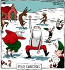 Comic Strip Dave Coverly  Speed Bump 2018-12-25 dancer