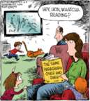 Comic Strip Dave Coverly  Speed Bump 2019-04-09 parenting