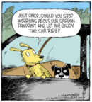 Comic Strip Dave Coverly  Speed Bump 2019-04-29 dog
