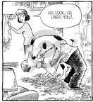 Comic Strip Dave Coverly  Speed Bump 2002-04-07 dance
