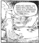 Comic Strip Dave Coverly  Speed Bump 2002-04-08 work