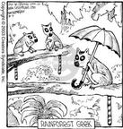 Comic Strip Dave Coverly  Speed Bump 2003-08-09 forest animal
