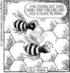 Comic Strip Dave Coverly  Speed Bump 2004-04-24 beehive