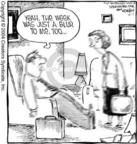 Comic Strip Dave Coverly  Speed Bump 2004-06-11 work week