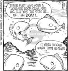 Comic Strip Dave Coverly  Speed Bump 2004-11-11 lake
