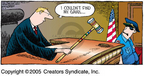 Comic Strip Dave Coverly  Speed Bump 2005-04-03 gavel