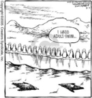 Comic Strip Dave Coverly  Speed Bump 2005-08-03 dangerous