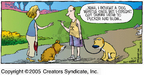 Comic Strip Dave Coverly  Speed Bump 2005-09-25 dog whistle