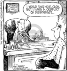 Comic Strip Dave Coverly  Speed Bump 2005-10-25 conflict of interest