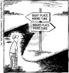 Comic Strip Dave Coverly  Speed Bump 2005-11-21 wrong direction