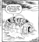 Comic Strip Dave Coverly  Speed Bump 2005-12-23 heat
