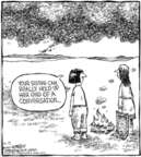 Comic Strip Dave Coverly  Speed Bump 2006-04-12 wordy