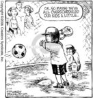 Comic Strip Dave Coverly  Speed Bump 2006-06-22 little league baseball player