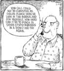 Comic Strip Dave Coverly  Speed Bump 2006-06-29 telephone
