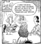 Comic Strip Dave Coverly  Speed Bump 2006-10-02 literary criticism