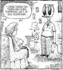 Comic Strip Dave Coverly  Speed Bump 2006-10-09 marriage