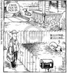 Comic Strip Dave Coverly  Speed Bump 2006-11-14 adversary