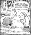 Comic Strip Dave Coverly  Speed Bump 2006-12-11 positive test result