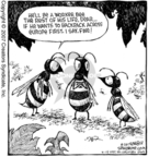 Comic Strip Dave Coverly  Speed Bump 2007-02-15 worker bee