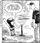 Comic Strip Dave Coverly  Speed Bump 2007-03-28 little league baseball player