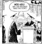 Comic Strip Dave Coverly  Speed Bump 2007-04-05 graduation