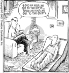 Comic Strip Dave Coverly  Speed Bump 2007-04-09 $300