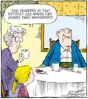 Comic Strip Dave Coverly  Speed Bump 2007-08-10 grandmother