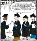Comic Strip Dave Coverly  Speed Bump 2007-08-28 graduation