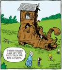 Comic Strip Dave Coverly  Speed Bump 2007-11-17 old dog