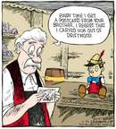 Comic Strip Dave Coverly  Speed Bump 2007-11-24 woodcarver