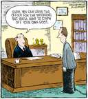 Comic Strip Dave Coverly  Speed Bump 2008-05-02 management