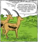 Comic Strip Dave Coverly  Speed Bump 2008-07-17 muscle