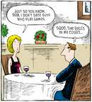 Comic Strip Dave Coverly  Speed Bump 2008-08-23 dater