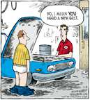 Comic Strip Dave Coverly  Speed Bump 2008-09-08 automotive accessory