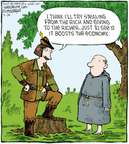 Comic Strip Dave Coverly  Speed Bump 2008-09-24 economy