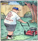 Comic Strip Dave Coverly  Speed Bump 2002-00-00 lawn care