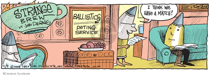 Ballistics Dating Service. I think we have a match.