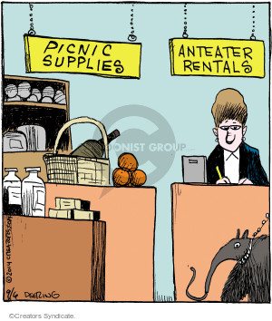 Picnic Supplies. Anteater Rentals.