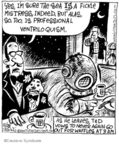 Comic Strip John Deering  Strange Brew 2007-12-28 3am