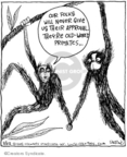 Comic Strip John Deering  Strange Brew 2008-03-22 monkey
