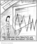Comic Strip John Deering  Strange Brew 2008-04-15 productivity