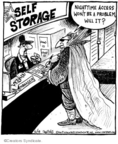 Comic Strip John Deering  Strange Brew 2009-06-18 horror