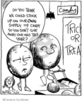 Comic Strip John Deering  Strange Brew 2009-10-17 Halloween