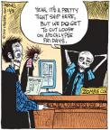 Comic Strip John Deering  Strange Brew 2010-12-03 zombie movie
