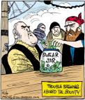 Comic Strip John Deering  Strange Brew 2011-12-06 jar