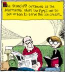 Comic Strip John Deering  Strange Brew 2012-05-03 ice cream