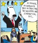 Comic Strip John Deering  Strange Brew 2012-06-08 political scandal