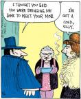 Comic Strip John Deering  Strange Brew 2012-08-04 cold